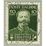 Italien 298 stämplad