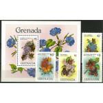 Grenada 1144-1147 + block 104 **