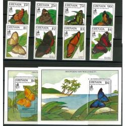 Grenada 2088-2095 + block 240-241 **