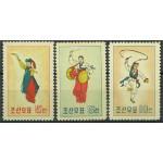 Nordkorea 213-215 (*)