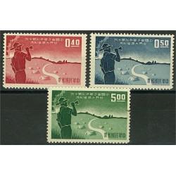 Taiwan 334-336 (*)