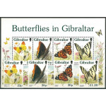 Gibraltar 793-796 + block 28 **