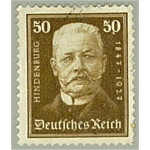Tyska Riket 406 stämplad