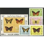 Jordanien 1487-1490 + block 67 **
