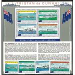 Tristan da Cunha 249-252 + block 8 **