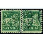 Sverige 140Ca stämplat par