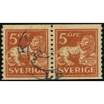 Sverige 142Abz stämplat par