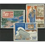 Elfenbenskusten 340-342 stämplade