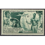 Franska Ekvatorialafrika 284 **