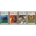 Australien 522-525 **