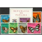 Panama 1056-1061 + block 89A **