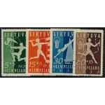 Litauen 417-420 stämplade