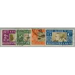 Nederländska Indien 196-199 stämplade