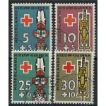 Nederländska Nya Guinea 49-52 stämplade