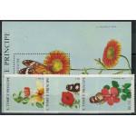 Sao Tome e Principe 1062-1064 + block 181 **