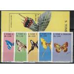 Sao Tome e Principe 1496-1500 + block 316 **
