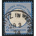 Tyska Riket 20 stämplad