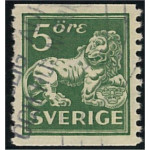 Sverige 143Acz stämpalt