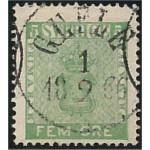 Sverige 7 GEFLE 1.2.1866