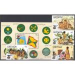 Grenada 1353-1356 + block 138 **