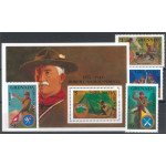 Grenada Grenadines 954-957 + block 145 **
