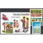 Grenada Grenadines 667-670 + block 94 **