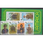Jamaica 532-535 + block 20 **