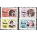 Tonga 924A-927A **