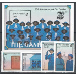 Gambia 600-603 + block 19 **