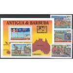Antigua & Barbuda 1061-1064 + block 128 **