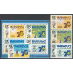 Bahamas 586-589 + block 45 **