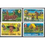 Sierra Leone 665-668 **