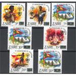 Zaire 915-921 **