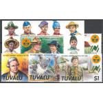 Tuvalu 480-483 + block 31 **