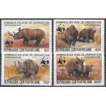 Centralafrika 985A-988A **