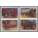 Uganda 361A-364A **