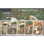 Sao Tome e Principe 1346-1350 + block 283-284 **