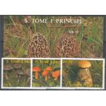 Sao Tome e Principe 1013-1015 + block 173 **