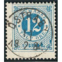 Sverige 32f ÖSTRABY 11.2.1884