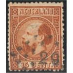 Nederländerna 9 II E stämplad