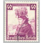 Tyska Riket 597 stämplad