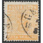 Sverige 4f GEFLE 5.8.1857