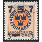 Sverige 126cx stämplad