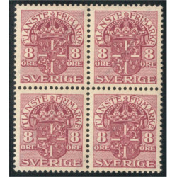 Sverige Tj46 ** 4-block