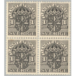 Sverige Tj40 ** 4-block