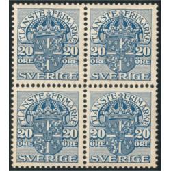 Sverige Tj34 ** 4-block