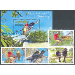 Seychellerna 911-914 + block 45 **