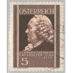 Österrike 649 stämplad