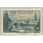 Frankrike 415 stämplad
