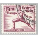 Tyska Riket 630 stämplad